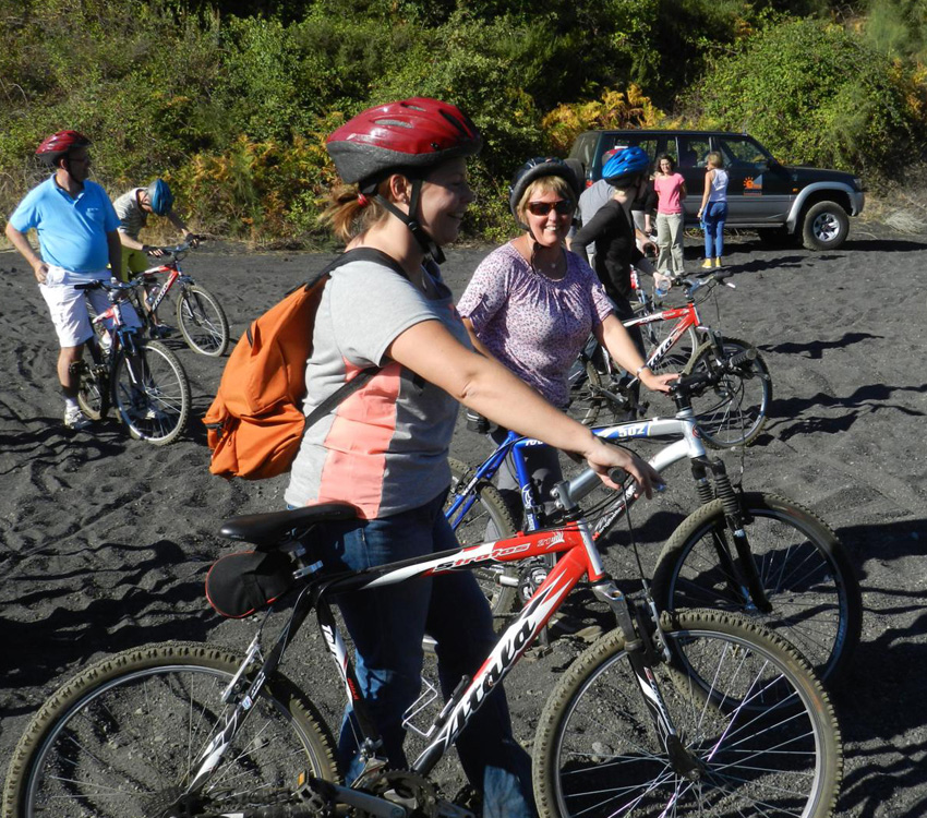 Etna Excursion: Mountain Bike